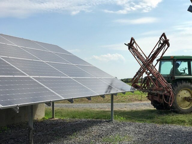 Solar Powered Farming