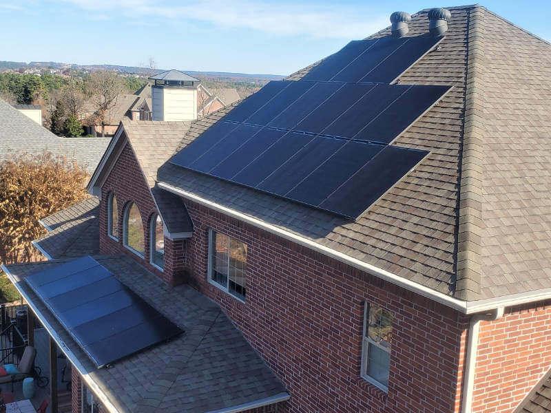 Solar project in Little Rock