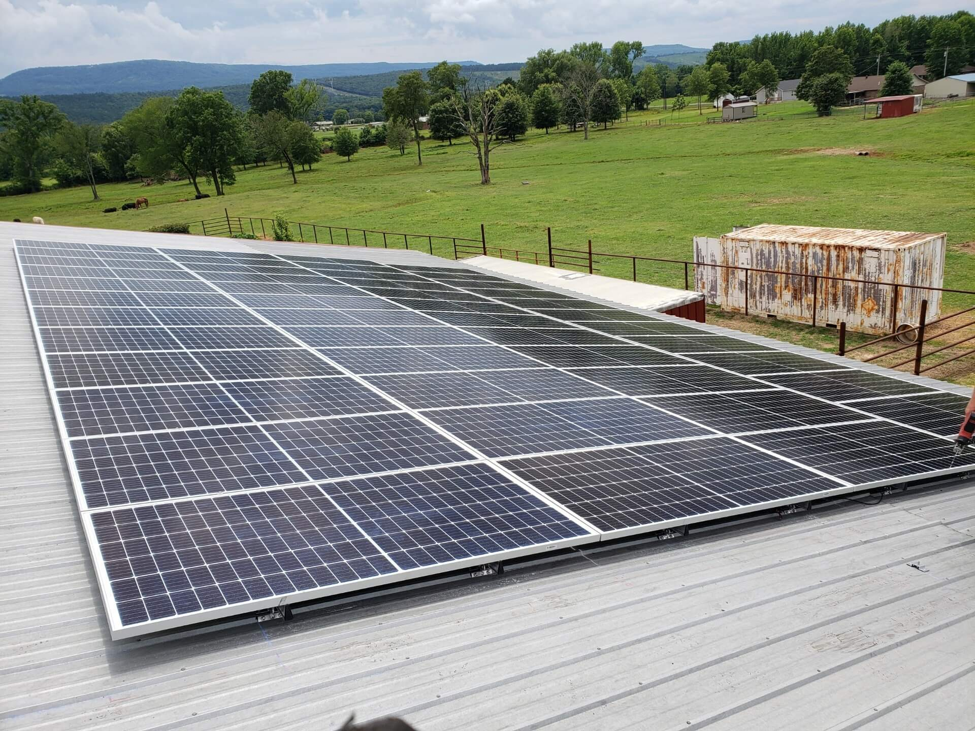 Seal Solar project in Cabot, AR
